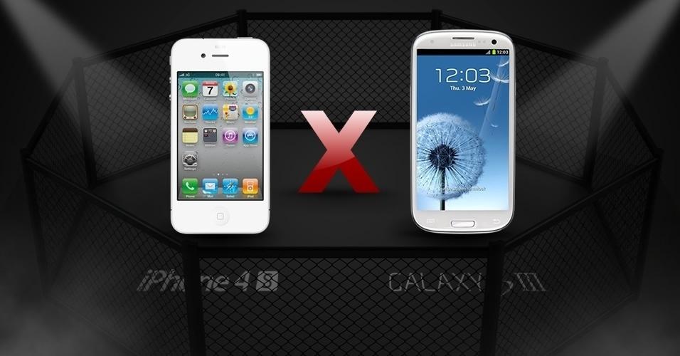 Abre iPhone 4S x Galaxy S III: smartphones são comparados recurso por recurso