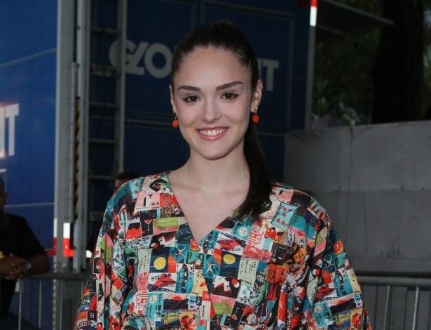 Isabelle Drummond prestigia a edição Verão 2013 do Fashion Rio (22/5/12). O evento de moda acontece no Jockey Club, zona sul do Rio