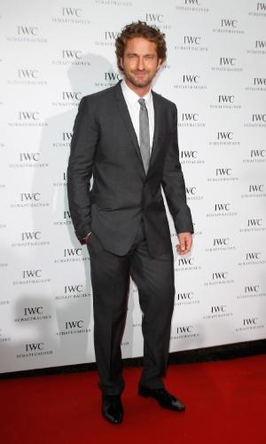 """O ator Gerard Butler no jantar exclusivo """"IWC Filmmakers Dinner"""" no hotel du Cap-Eden-Roc em Cap d'Antibes, na França, durante o Festival de Cannes 2012 (21/5/12)"""
