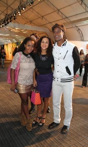Toni Garrido prestigia a edição Verão 2013 do Fashion Rio (22/5/12). O evento de moda acontece no Jockey Club, zona sul do Rio