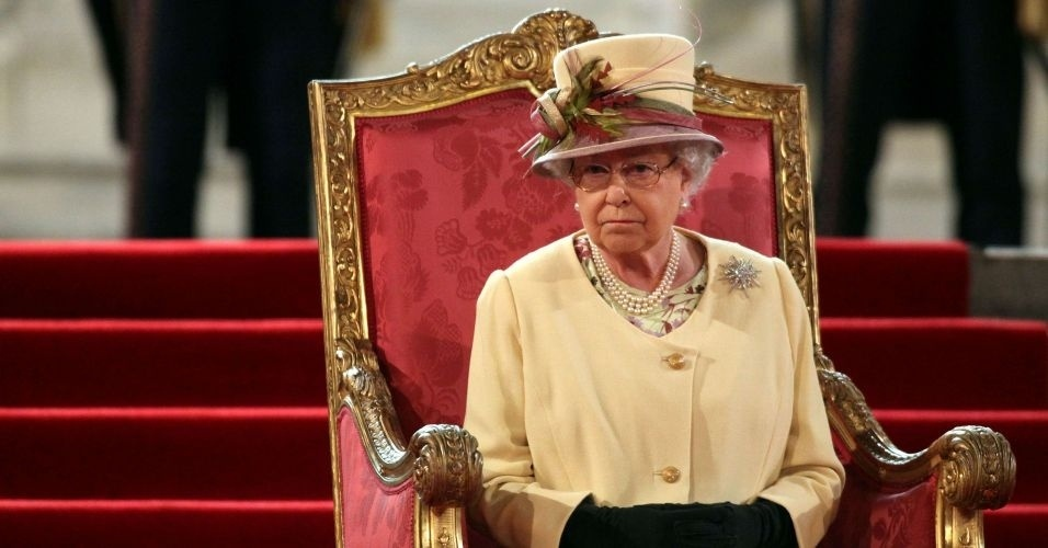 20.mar.2012 - Rainha Elizabeth 2&#170; da Inglaterra recebe nesta ter&#231;a-feira (20) homenagem pelos seus 60 anos de trono que marca o Jubileu de Diamantes (Diamond Jubilee)