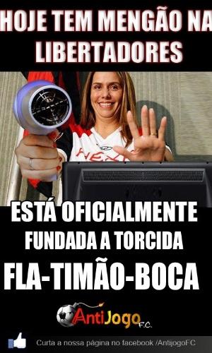 Libertadores dos secadores: é fundada a torcida Fla-Timão-Boca