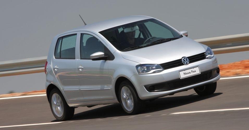 4º lugar: Volkswagen Fox -- 1.0 duas portas: R$ 29.490 (era R$ 32.730)