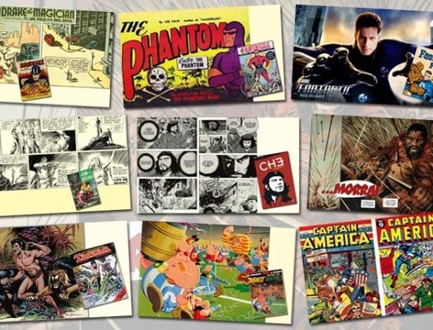 Da Antiguidade ao Colonialismo, passando pela Guerra Fria e a Revolução Russa, a História chega aos quadrinhos.