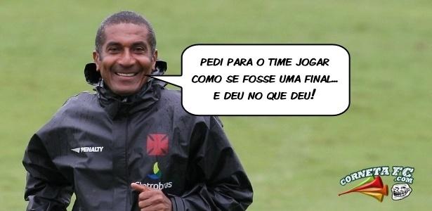 Corneta FC: Cristovão justifica derrota do Vasco: