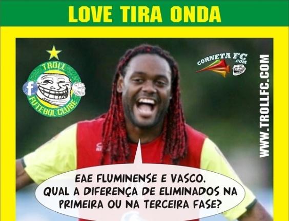 Corneta FC: Love tira onda com rivais eliminados na Libertadores
