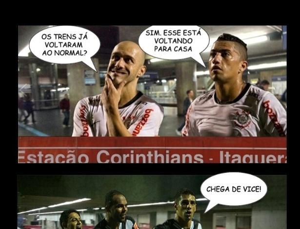 Corneta FC: Trens voltam a operar normalmente em São Paulo