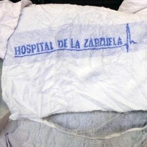 """Material estava relacionado como """"tecido atoalhado de algodão"""""""