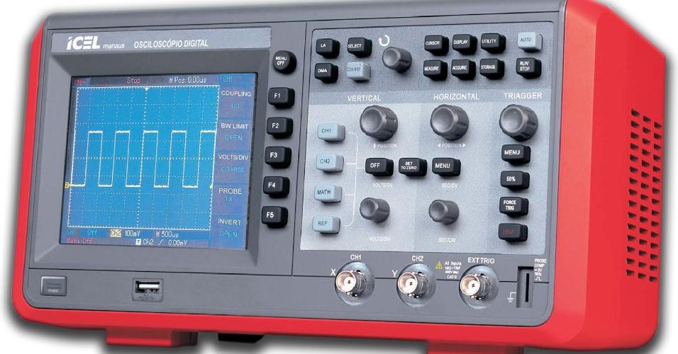 Osciloscópio, ondas elétricas