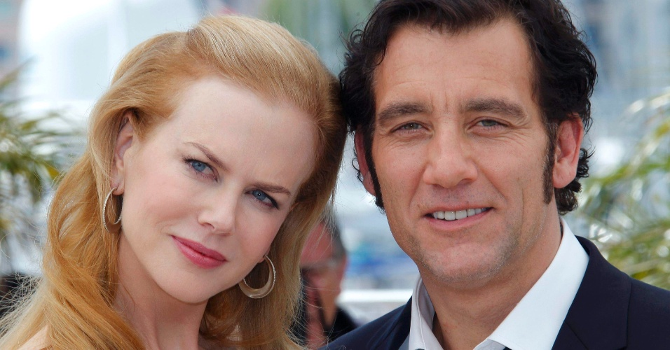 """A atriz Nicole Kidman e o ator Clive Owen durante apresentação do filme """"Hemingway & Gellhorn"""" no Festival de Cannes 2012 (25/5/12)"""
