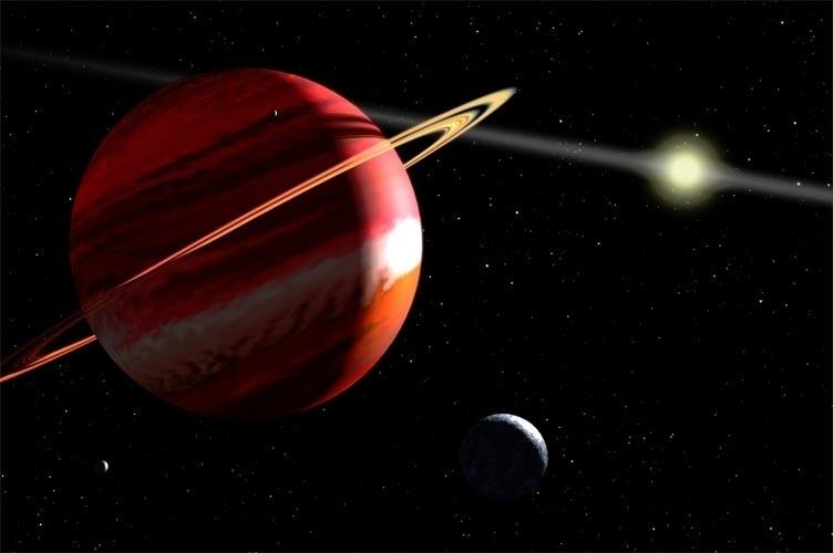 A órbita de cada planeta é uma elipse com o Sol em um dos focos. Essa é a primeira das três Leis de Kepler que descrevem as propriedades principais do movimento dos planetas em torno do Sol. Sabe-se hoje que essas leis podem ser aplicadas a qualquer sistema planetário. Conheça mais sobre as leis de Kepler.