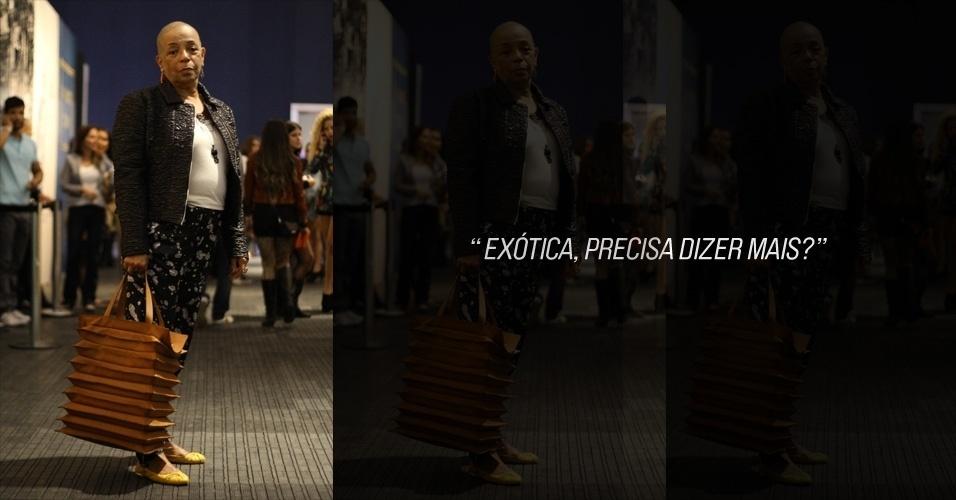 Carmen Cruz, 50, é secretaria executiva e veste look total Maria Bonita Extra. As bijuterias e joias são Simek (24/05/2012)