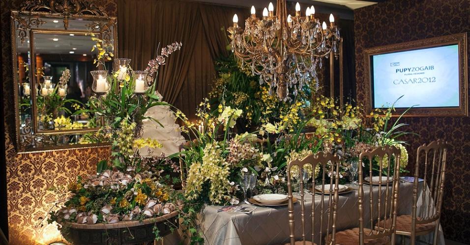 Espaço da designer e florista Pupy Zogaib (www.pupyzogaib.com.br) na feira Casar (24/05/2012)