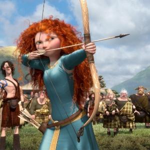 Cena da animação Valente, da Pixar