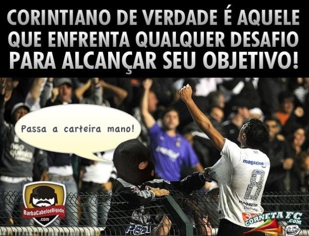 Corneta FC: Corintiano não desiste nunca
