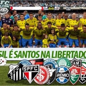 Corneta FC: O Brasil é Santos na Libertadores