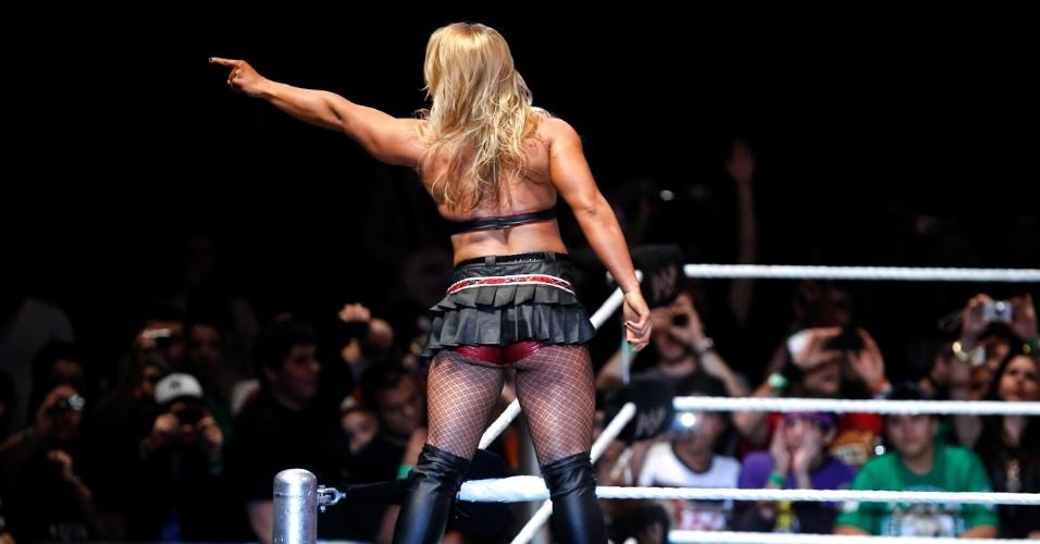 Na única luta feminina da noite, a vilã Beth Phoenix venceu Kelly Kelly