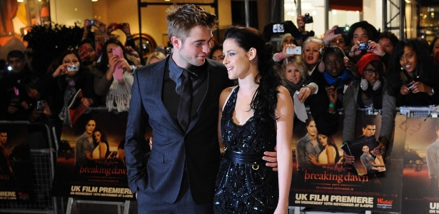 Robert Pattinson e Kristen Stewart nos bons tempos