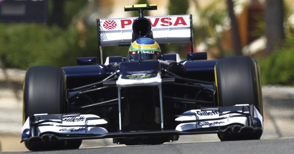 Bruno Senna, da Williams, largará na 13ª posição