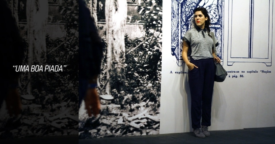 Luísa Daou, 28, é designer de moda e veste blusa Quiça, bota Eclectic, bolsa Josephina e calça se sua marca própria, a Miss Manga, que integra a Comuna, o espaço multicultural preferido dos modernos do Rio de Janeiro (25/05/2012)