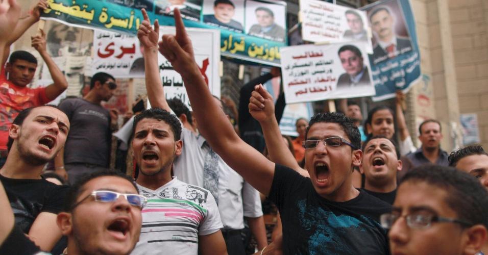 Cristão coptas organizam manifestação no Cairo pela soltura de coptas presos no Egito