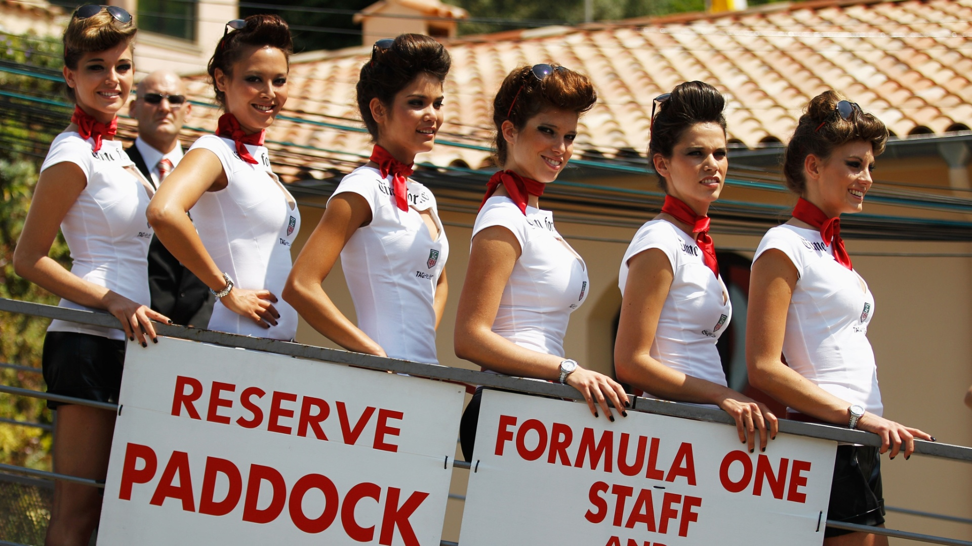 Grid girls brilharam no GP de Mnaco de Frmula 1