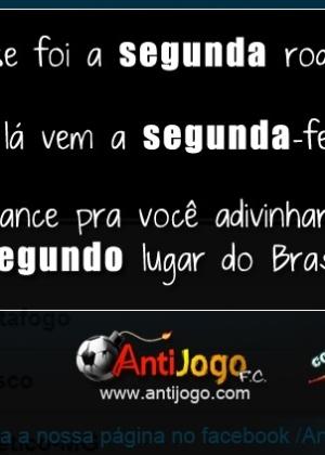 Corneta FC: Adivinha quem é o vice-líder do Brasileirão
