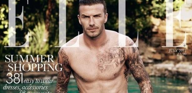 David Beckham estampa capa da edição de julho da revista
