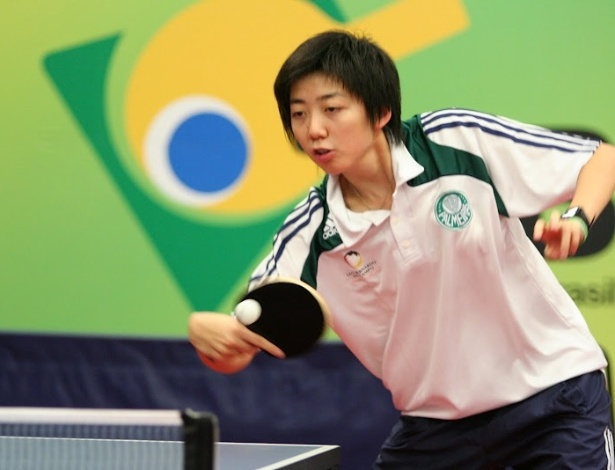 Gui Lin, chinesa naturalizada, representou o Brasil nos Jogos Olímpicos de Londres