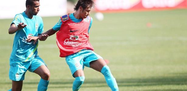 Neymar participa de seu primeiro treino com a seleção brasileira na 'turnê' pelos EUA