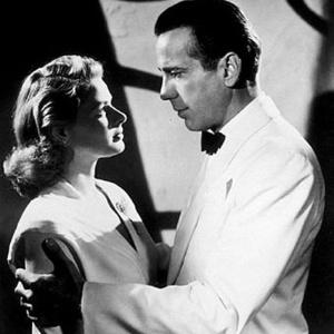 """Humphrey Bogart e Ingrid Bergman, em """"Casablanca"""", trocavam olhares; isso não ocorre mais na TV"""