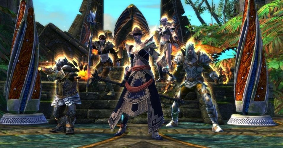 """A Trion Worlds levará para a E3 as próximas inovações em """"Rift"""", seu premiado RPG online"""