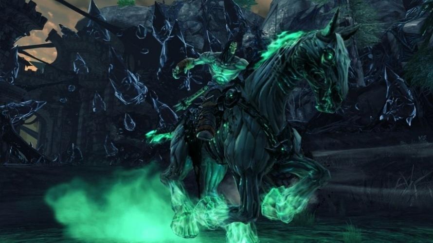 """Cavaleiro da Morte volta à Terra para salvar a raça humana em """"Darksiders II"""""""