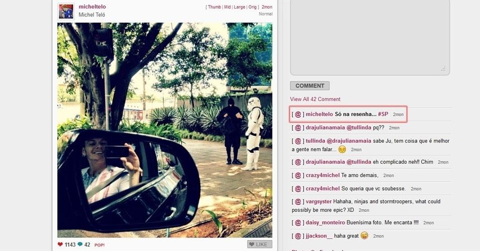 Celebridades no Instagram