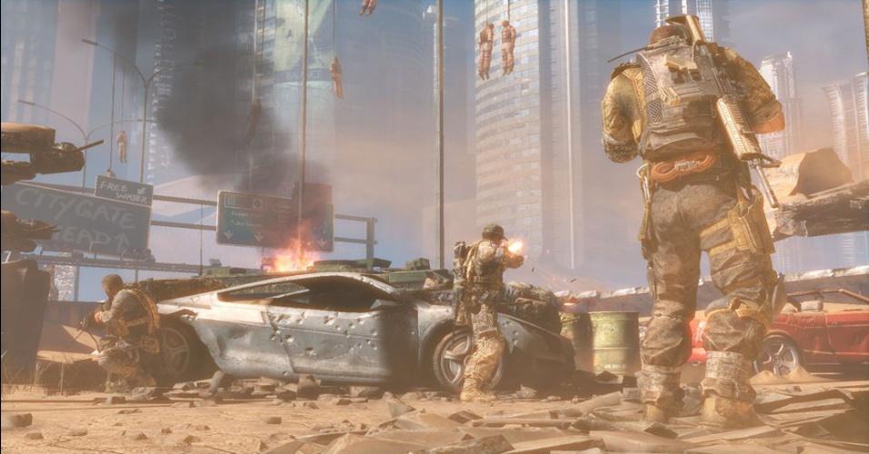 """Cidade de Dubai devastada é o cenário do tiroteio caótico de """"Spec Ops: The Line"""""""