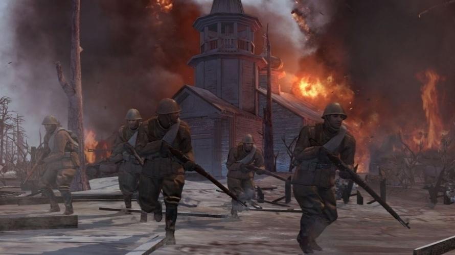 """Estratégia em tempo real de """"Company of Heroes 2"""" aborda conflito da segunda guerra mundial"""