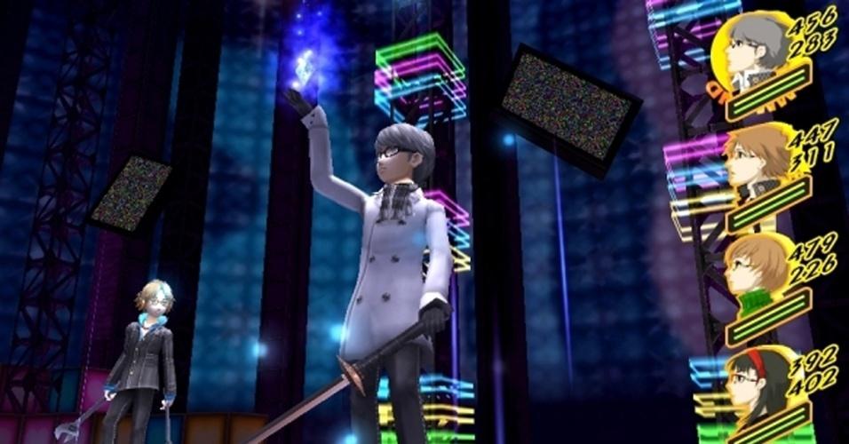 """No PS Vita, """"The Golden"""" expande o universo de """"Persona 4"""" com gráficos melhorados e multiplayer online"""