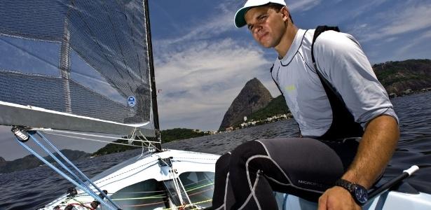 Estreante olímpico, Jorge Zarif representará o Brasil na classe Finn nos Jogos de Londres