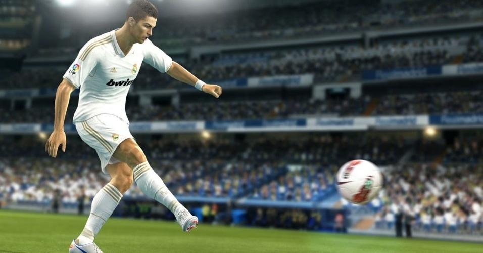 """Nessa E3, """"Pro Evolution Soccer 2013"""" luta para recuperar o posto de favorito entre os jogos de futebol"""