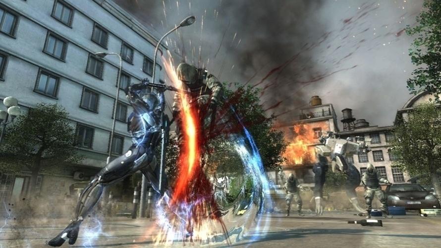 """O nome pode ter mudado, mas a meta em """"Metal Gear Rising: Revegeance"""" será a mesma: fatiar os inimigos"""