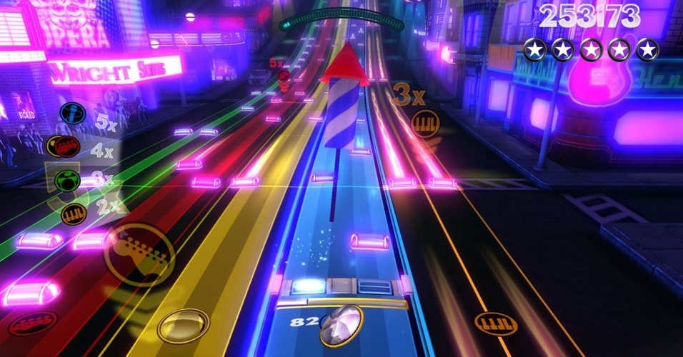 """Sem relação com a banda brasileira dos anos 80, """"Rock Band Blitz"""" leva game musical para as redes Xbox Live e PlayStation Network"""
