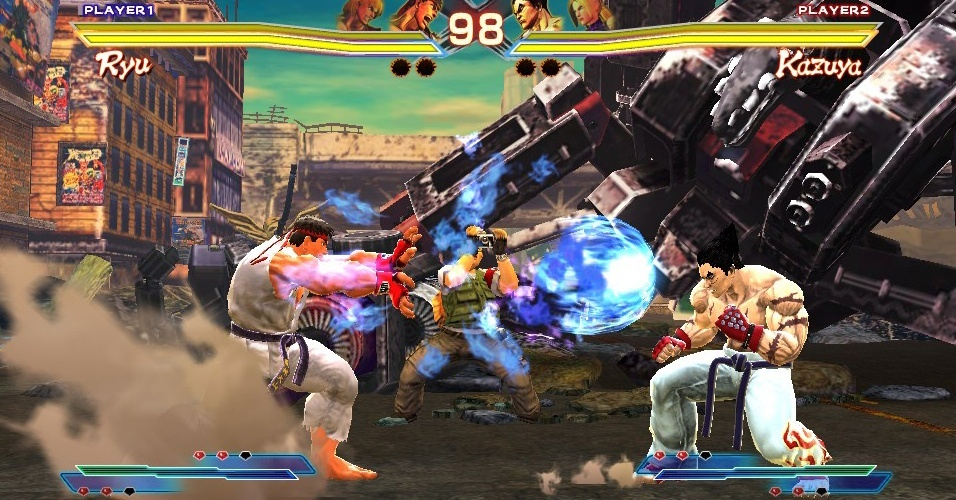 """Street Fighter X Tekken"" promeverá encontro de briguentos no PS Vita"