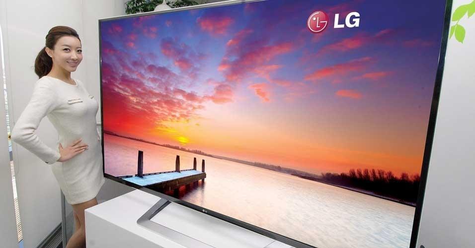 2.jan.2012 - A LG divulgou em seu blog uma TV 3D de ultradefinição (UD) com 84 polegadas. A novidade será oficialmente apresentada ao público na feira de tecnologia CES (Consumer Electronics Show), realizada em janeiro em Las Vegas