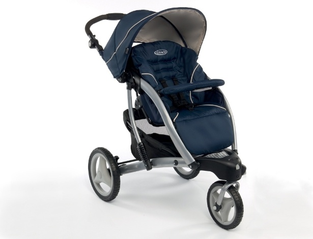 carrinho de bebê, Graco, Trekko Peacoat Girotondo