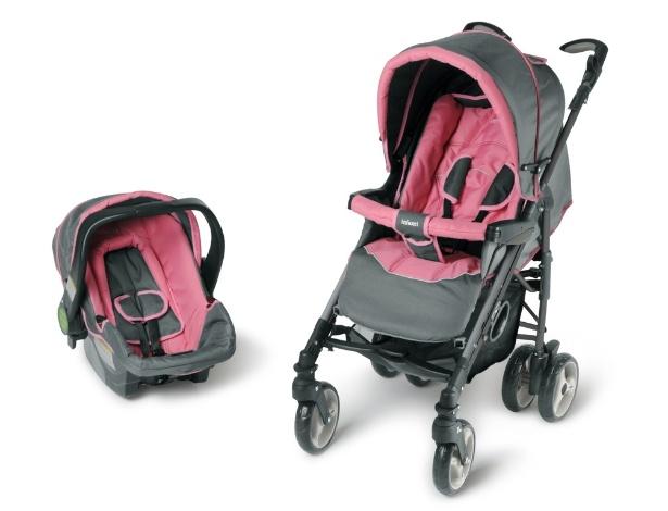 Carrinho de bebê, Infanti, Techo Pink