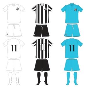 CBF divulga segundo uniforme do Santos em seu site oficial e acaba com mistéria