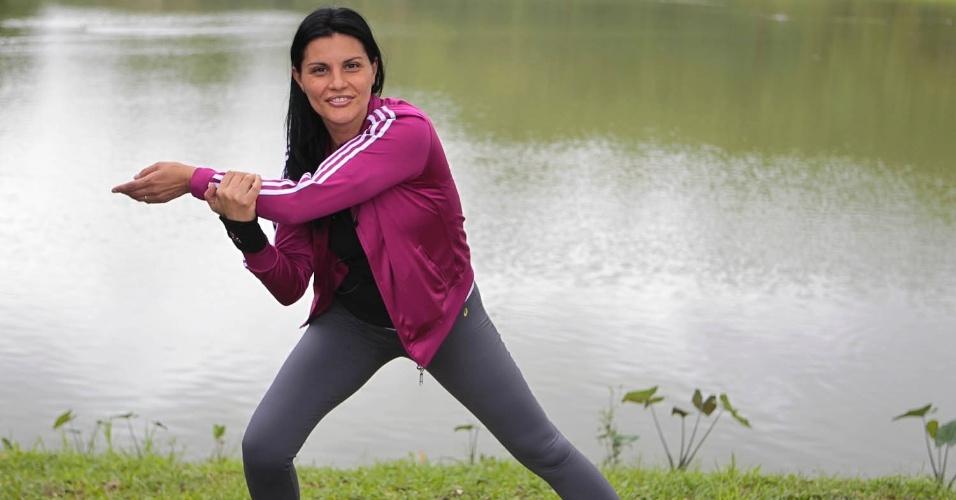 Andréia Luciana Pinto Moreira Oliveira. Foto de personagem. Exclusiva de Comportamento