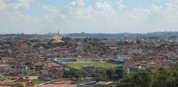 Cidade de Atibaia, em São Paulo
