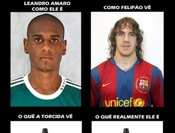 Corneta FC: Conheça os pontos de vista sobre Leandro Amaro