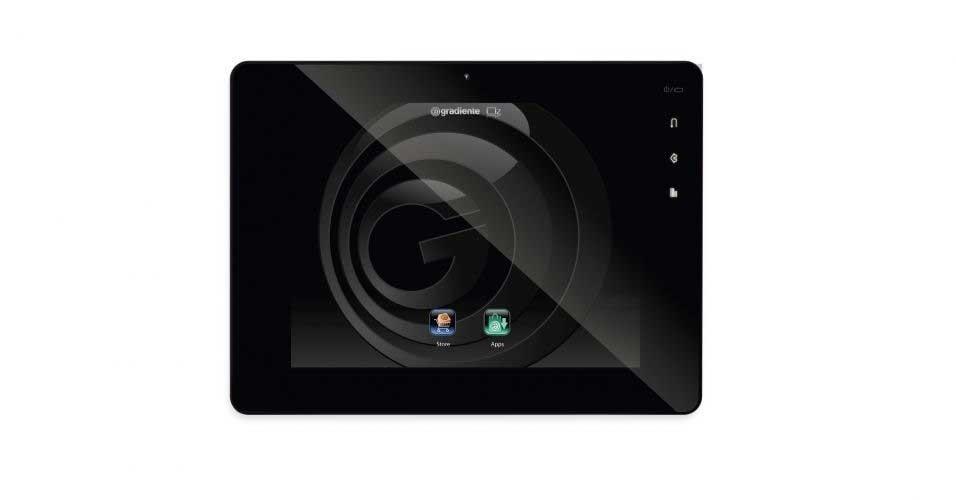 16.mai.2012 - Após beirar a falência, a marca Gradiente volta ao mercado brasileiro com o tablet OZ Black, que tem preço sugerido pela empresa de R$ 999. O aparelho tem uma loja própria de aplicativos (Gradiente Apps), conexão wi-fi, câmera frontal de 2 megapixels, sensor de movimento, sistema Android 2.3.1 e processador de 1 GHz. Ele vem com 4 GB de capacidade de armazenamento, mas com a inclusão de cartão de memória, pode chegar a 32 GB